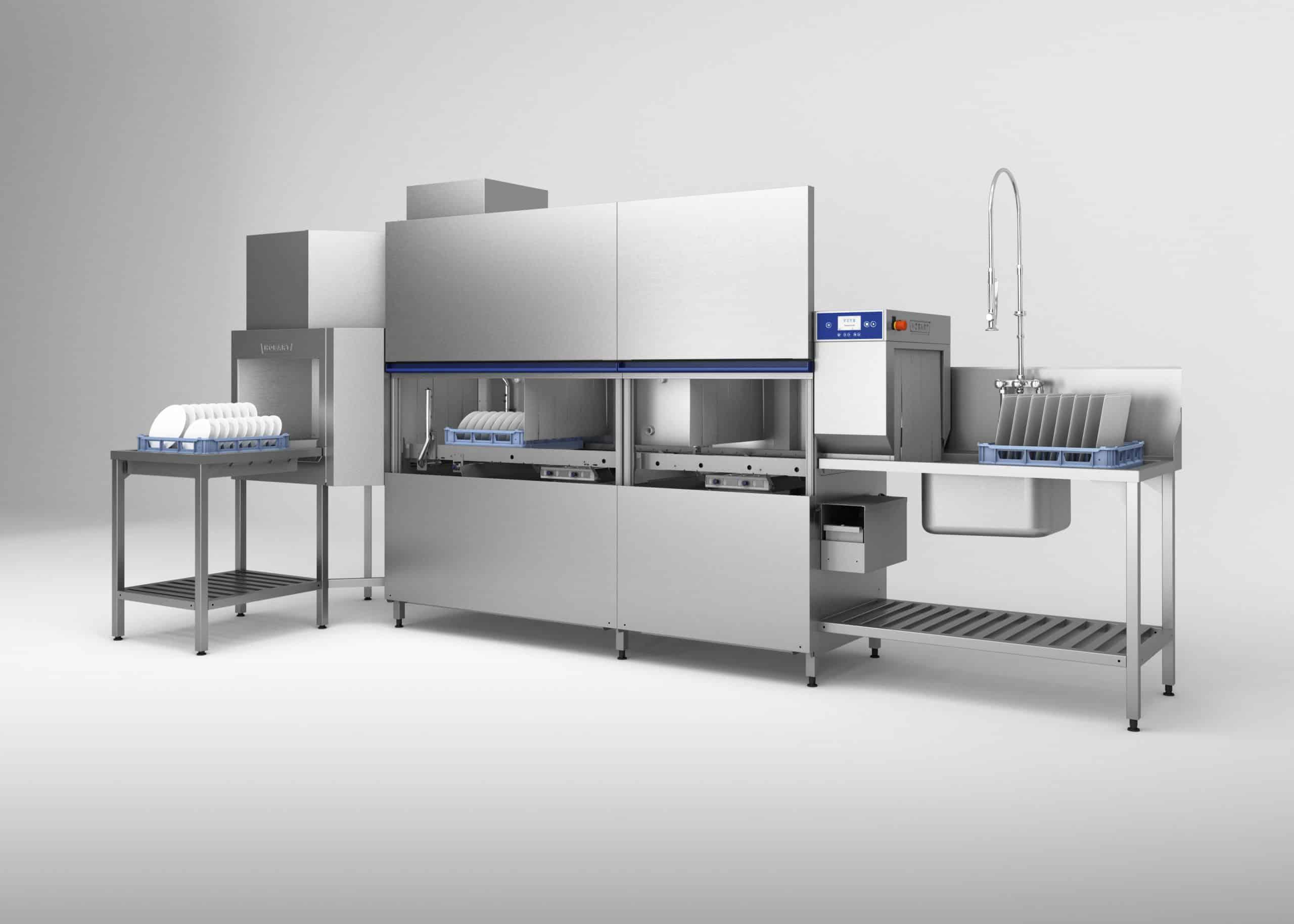 Hobart Neue Korbtransport Spulmaschine Foodservice Equipment News