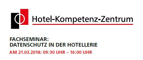 Datenschutz in der Hotellerie