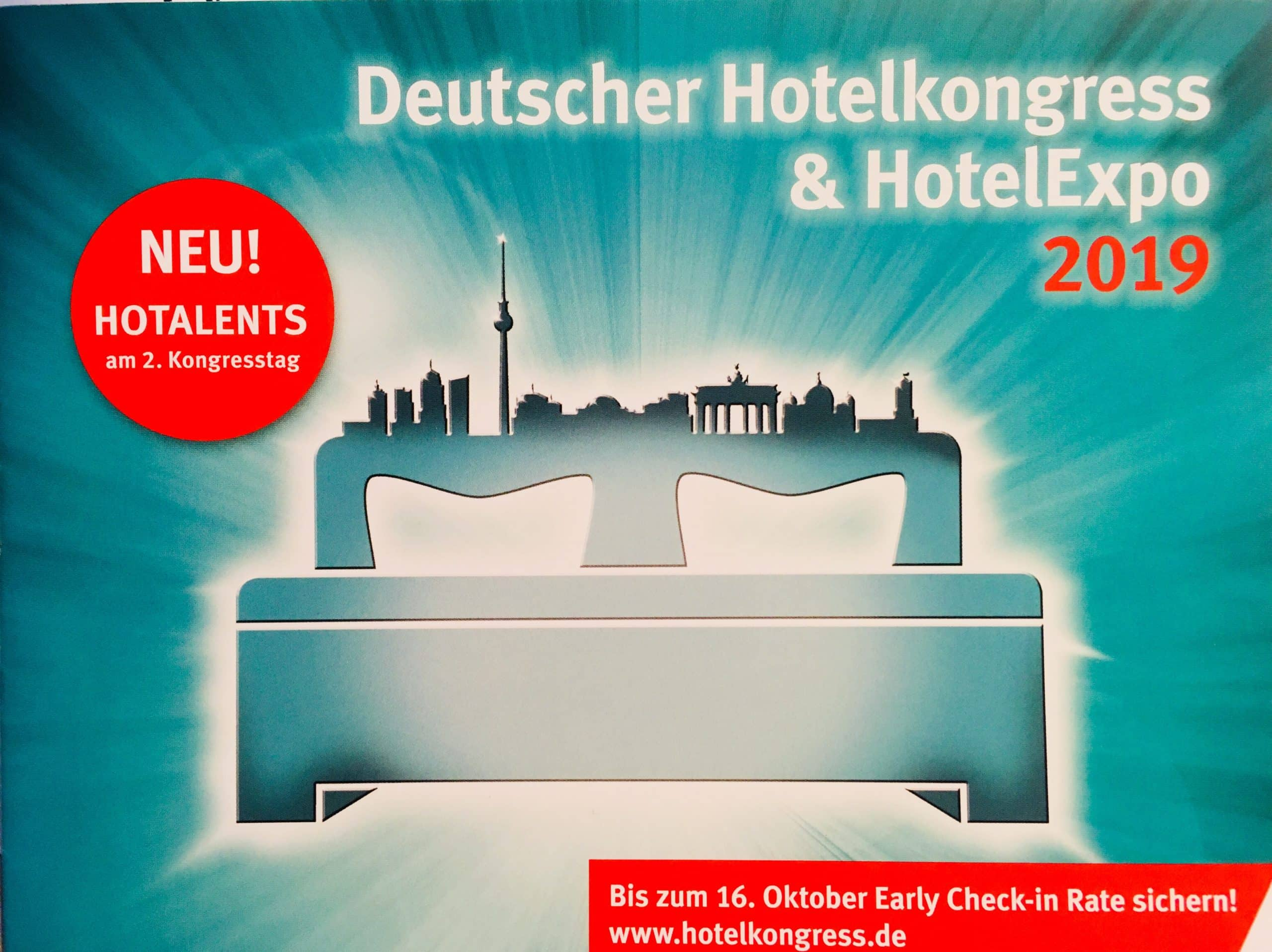 Deutscher Hotelkongress 2019