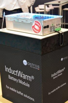 GASTROS Switzerland: Neue mobile Induktionstechnik