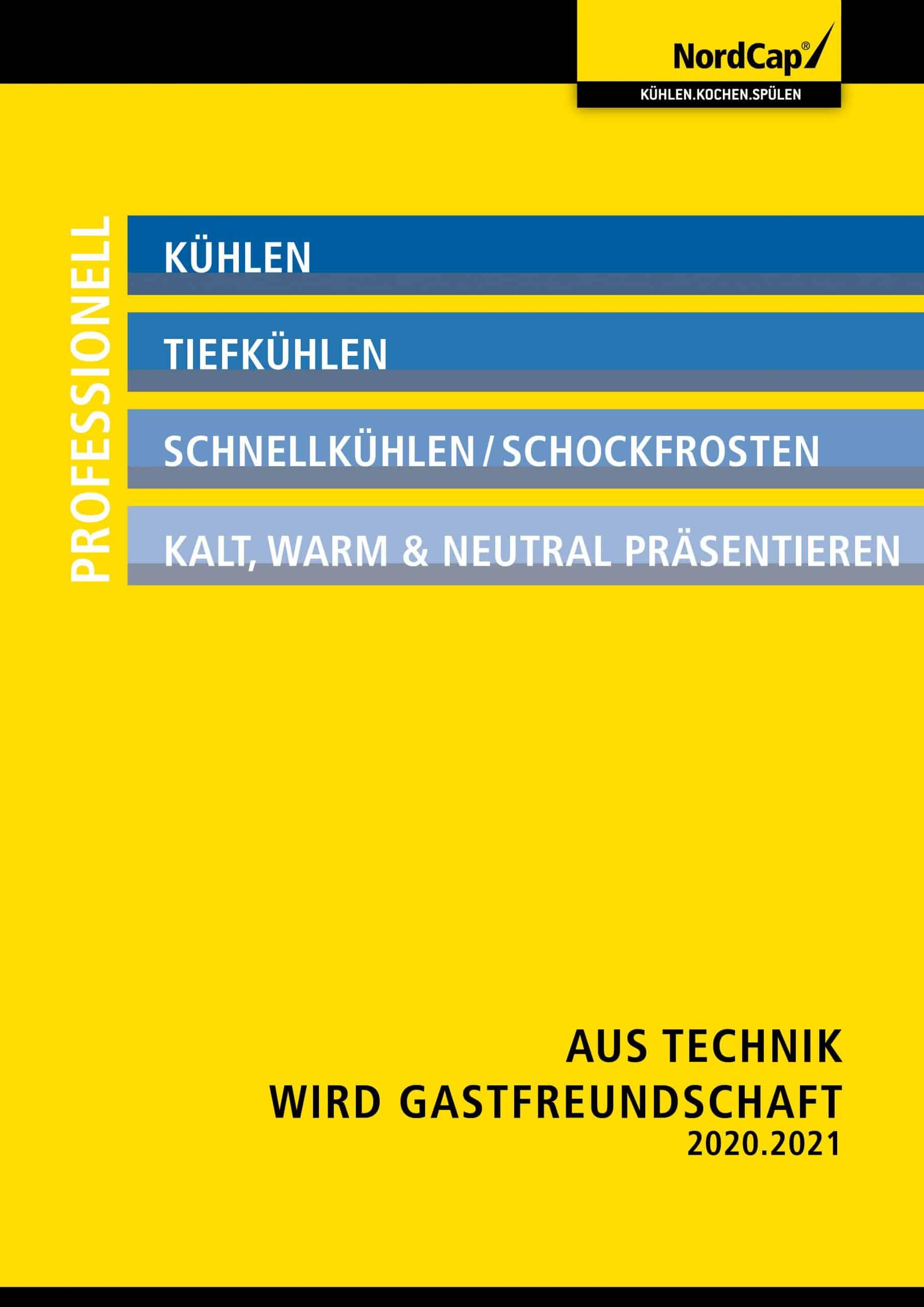 NordCap: Neues Katalogprogramm 2020/2021
