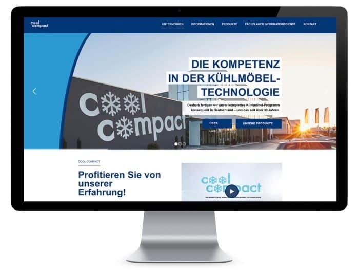 Cool Compact: Relaunch der Website