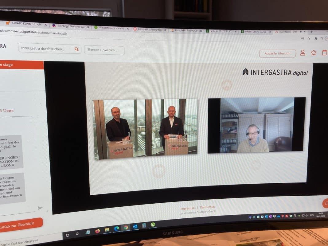 Intergastra digital: Erster Tag schwierig aber erfolgreich