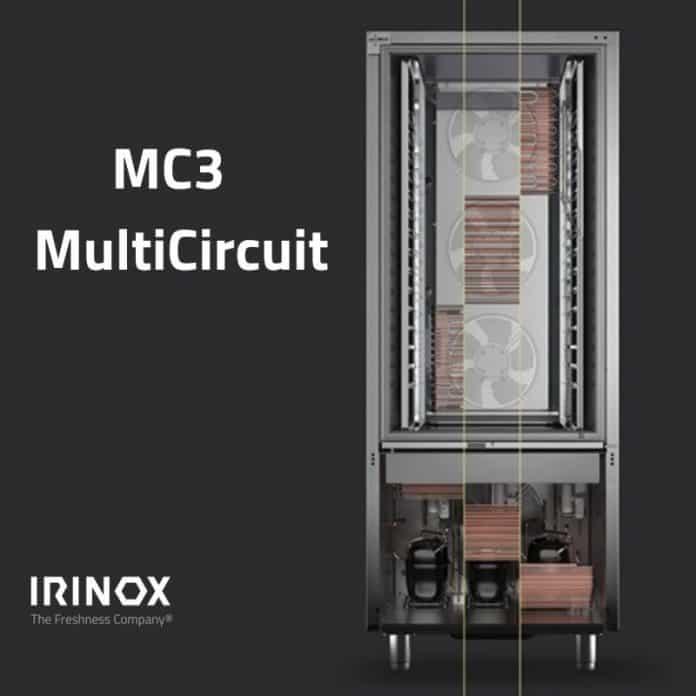 Patent für Irinox MC3 Multicircuit zugeteilt: Unabhängige Kühlkreisläufe sorgen für Effizienz