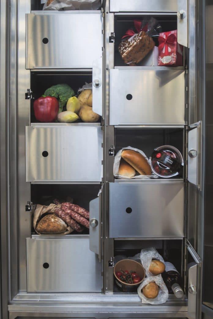 """NordCap führt mit der """"Frischebox"""" ein einzigartiges Abholsystem für gekühlte Lebensmittel- und Getränkeprodukte ein"""