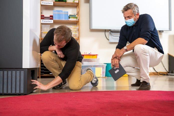 Mehr als 1.500 Miele-Luftreiniger für Hamburger Schulen